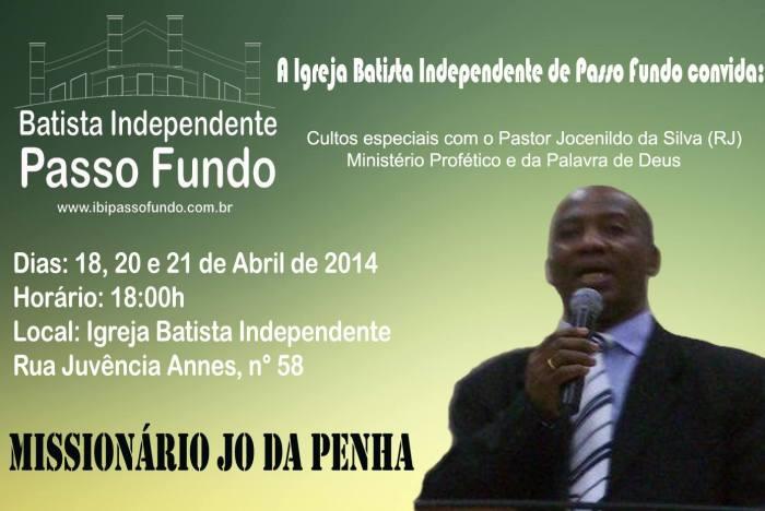18 a 21 de abril de 2014! Venha participar!